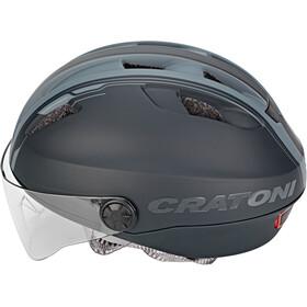 Cratoni Evo Casque de vélo, black/anthracite matte